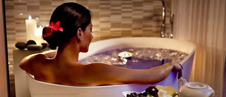 ванна с эфирными маслами, как принимать ванну с эфирными маслами