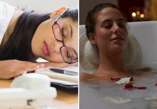 как снять усталость, усталость, эфирные масла
