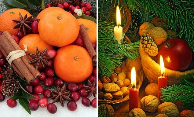 рождественское настроение , эфирные масла